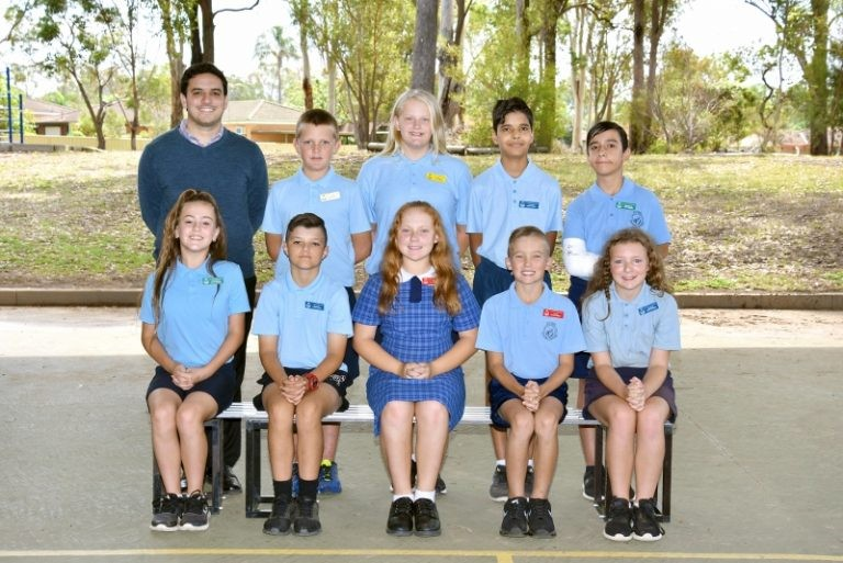 William Dean Public School 2018 house captains.